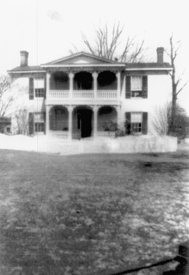 The Batten-Yeoman Farm House, early photo